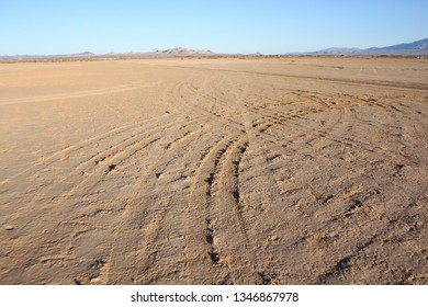 dry landscape at Lucerne Valley