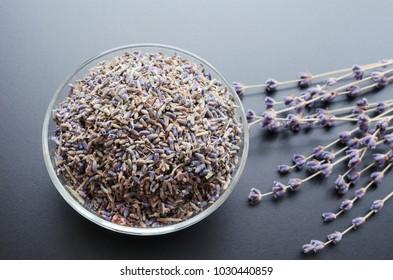dry lavender tea