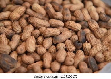 Dry Nuts Closeup