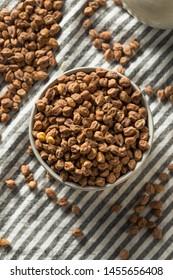 Dry Organic Kala Chana Desi Chickpeas in a Bowl