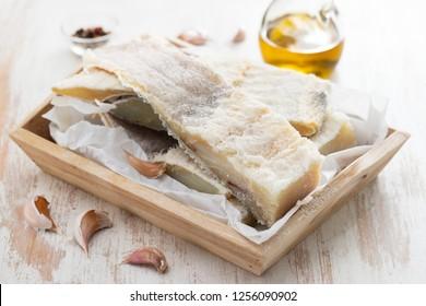 dry salted cod fish