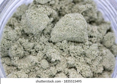 Dry Sift Trichomes from Medical Cannabis