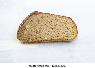 A dry slice of bread