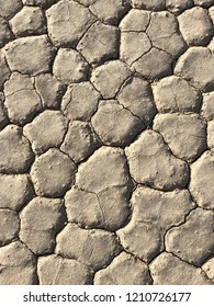 Dry spil texture, Death Valley National Park, California, USA