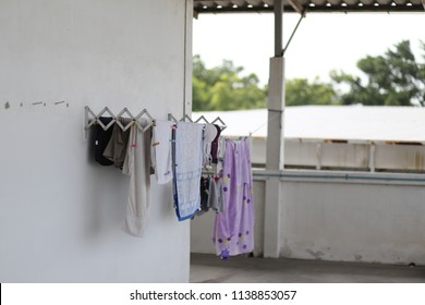 dry stack for clothes and laundry service
