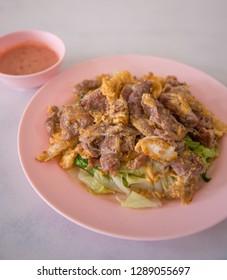 Dry suki pork