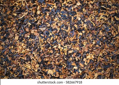 Dry tobacco texture background