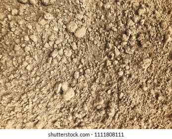 Dry topsoil background