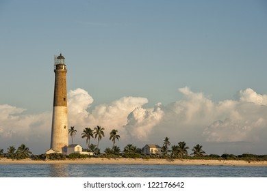 The Dry tortugas lighthouse or commonly called Dry Tortugas light