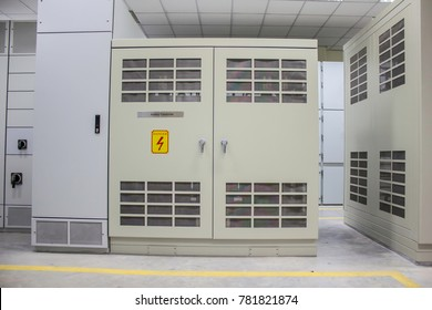 Dry Type Transformer install at Electrical Room in Power Plant
