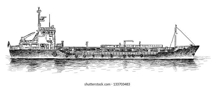 dry-cargo ship