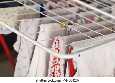 drying clothes on drying