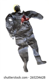 Drysuit for diving  and other watersport activities.