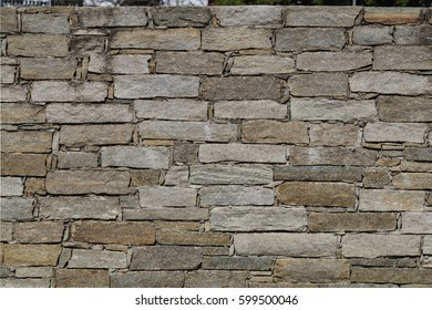 Drywall made of stone slabs