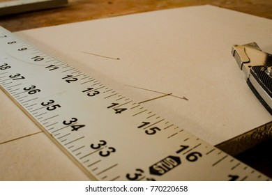 Drywall measuring and cutting