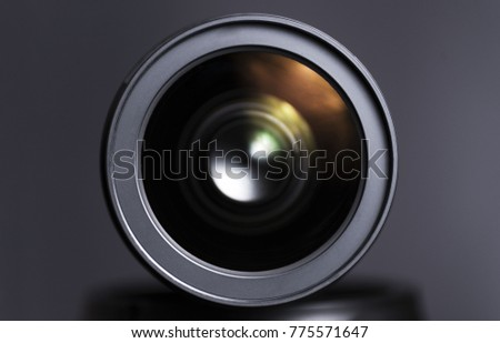 Dslr Camera Lens Close Clean Glass Stock Photo Edit Now 775571647