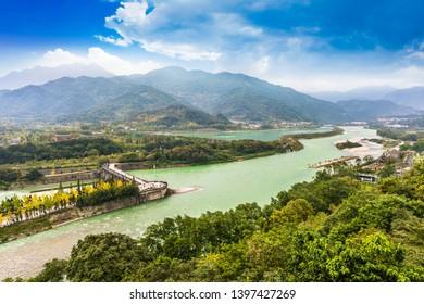 Du jiang yan in Sichuan of China
