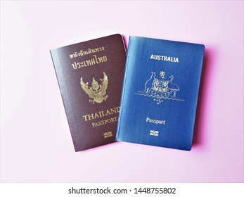 Dual citizenship of Thai and Australian - Passports