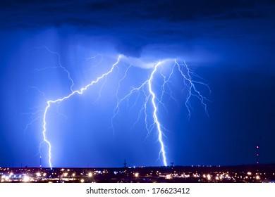 Dual Threat: Lightning