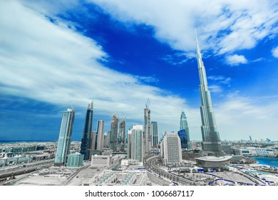 Dubai city center, United Arab Emirates