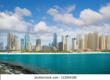 Dubai city, panoramic view