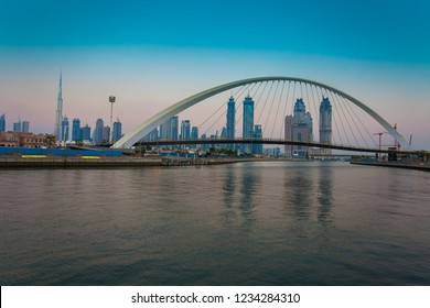 Dubai city skyline in the daylight
