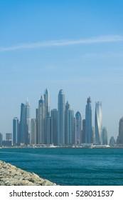 Dubai cityscape.