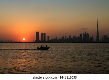 Dubai Creek Harbour, Downtown and Business Bay, United Arab Emirates
