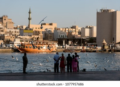 Dubai Creek  is a saltwater creek located in Dubai, United Arab Emirates (UAE).  Dhows used for purposes of fishing were also built on the foreshore of the creek.