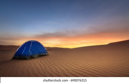 Dubai Desert Camping