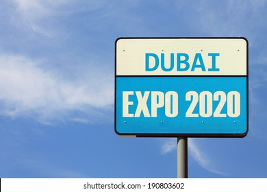 Dubai Expo 2020 Sign