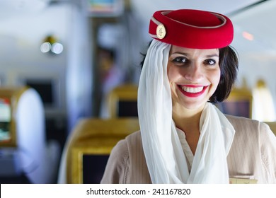 Emirates Cabin Crew Uniform Images Stock Photos Vectors