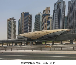 dubai has an automated transport system utilising airconditioned stations