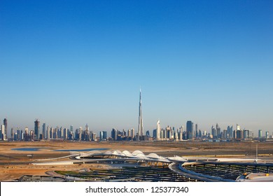 Dubai was just a desert 30 years ago, now it is home to many of the tallest skyscrapers in the world