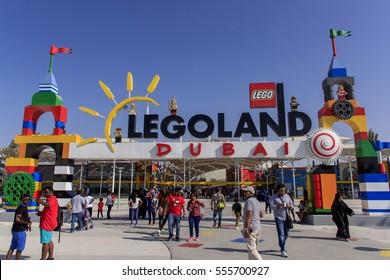Dubai Legoland at Dubai Parks and Resorts,Dubai, United Arab Emirates, Taken on December 1, 2016