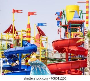Dubai Legoland Water Park at Dubai Parks and Resorts,Dubai, United Arab Emirates, Taken on 26th August 2017