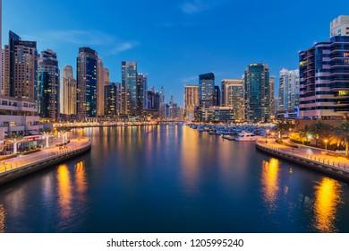 Dubai Marina dn JLT, Dubai, UAE - February 2016