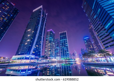 Dubai Marina JLT hotels background