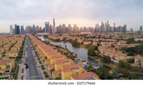 Dubai, Dubai Marina , jumeirah lake tower photo taken on february 28, 2016