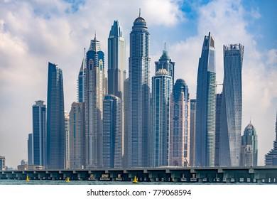 Dubai Marina seaview