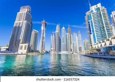 Dubai marina ,UAE