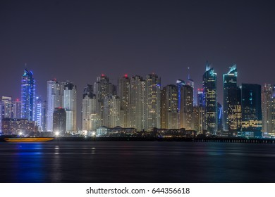 Dubai Marina, view from Palm Jumeirah