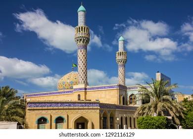 Dubai mosque building, United Arab Emirates