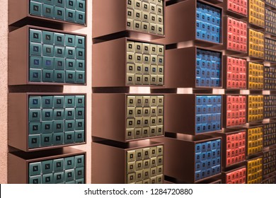 DUBAI - OCTOBER, 2018: Nespresso capsules inside store. Nespresso is the brand name of Nestlé Nespresso S.A., an operating unit of the Nestlé Group, based in Lausanne, Switzerland.