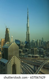 dubai rises majestically from the desert, a modern city in an ancient land