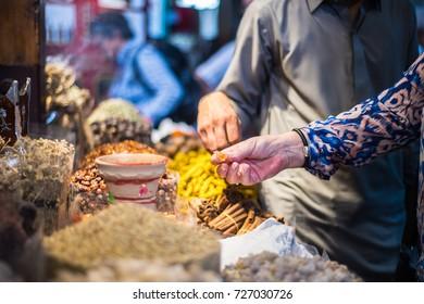Dubai spices market