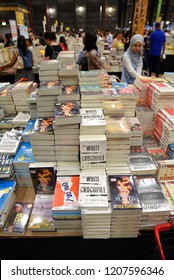 Dubai Studio City, Dubai, United Arab Emirates, October 19, 2018, Big Bad Wolf Book Sale Expo over 3M new books for sale with big discounts in Dubai