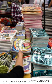 Dubai Studio City, Dubai, United Arab Emirates, October 19, 2018, Big Bad Wolf Book Sale Expo over 3M new books for sale with big discounts in Dubai