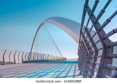 Dubai Tolerance bridge near famous water canal amazing modern architecture  Best place to visit in United Arab Emirates, Travel and tourism concept image