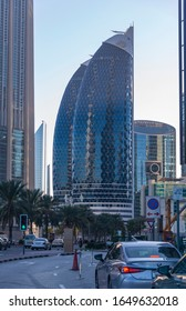 Dubai, UAE. 02/15/2020. Daring and creative architecture is one of the major drawing force for the visitors in Dubai. Dubai has 18 completed and topped-out buildings that rise at least 300 m.